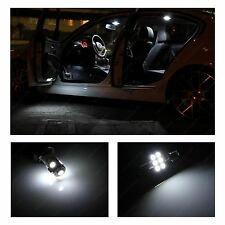 6 Pieces Premium White LED Lights Interior Package Kit for 2009-2013 Dodge RAM