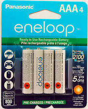 1 x PANASONIC Eneloop NiMH Rechargeable AAA Battery 4 Pack - Made in Japan