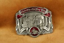 Vintage Budweiser 'The American Trucker' Buckle Made in USA Copyright 1987 D-175