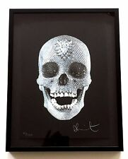 """DAMIEN HIRST """"FOR THE LOVE OF GOD"""" 2007  SIGNED SILKSCREEN EXCELLENT from Japan"""