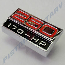 250 170-HP ,GUARD BADGE NEW,for Ford Falcon XY 2V Inline 6 six 170HP Fairmont GT