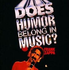 NEW Does Humor Belong In Music? by Frank Zappa CD (CD) Free P&H