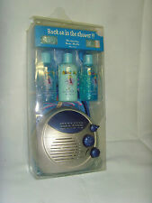 PORTABLE SHOWER RADIO AM FM STATIONS ROCK ON IN THE SHOWER