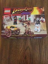 Indiana Jones Lego Big Lego Sets Ambush In Cairo Sealed Minifigures Crafting Box