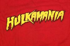 Hulk Hogan Hulkamania 2002 Red T-Shirt XL X-Large TNA Wrestling