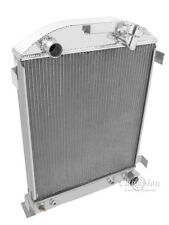 1932 Ford Street Rod 3 Row Radiator Hi-boy style (Chevy V8) For A/T or M/T