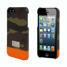 Hex Focus Hard Shell Snap Case Cover for iPhone SE & iPhone 5s (Camo/Orange) NEW