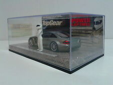 "Minichamps 1:43 Mercedes SL65 AMG closed silver ""Black Series"" + Stig LE 1/2009"