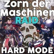 """Hard RAID """"rabbia delle macchine"""" con Challenge e monitor (Destiny)"""