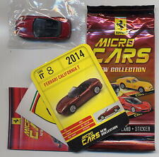 Micro Cars 2015 FERRARI California T #08 +card+sticker+bag+bpz 1/100 Kyosho MIB