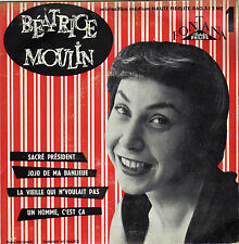 BEATRICE MOULIN SACRE PRESIDENT FRENCH ORIG EP ANDRE POPP