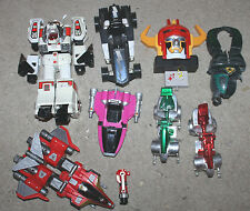 1990's Bandai Power Rangers Mighty Morphin Vehicle & White Tigerzord (Worn) Lot