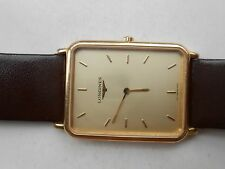 Excellent Slim Longines La Grand Classique Luxury Mens Gents Quartz WristWatch