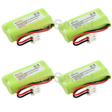 4x Battery 350mAh NiCd for VTech BT162342 BT262342 2SNAAA70HSX2F BATTE30025CL