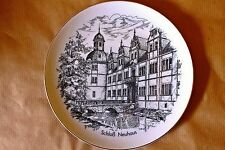 Sophienthal, Sammelteller, Motiv: Schloß Neuhaus bei Padaborn