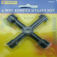 LOCKSMITHS TOOL KEY GAS ELECTRIC WATER METER SPECIAL DOOR OPENER TOOL SECURITY