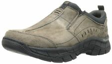 SKECHE Men's RIG MOUNTAIN 51292 Brown SLIP-ON Relaxed Fit SUEDE SHOES - 10