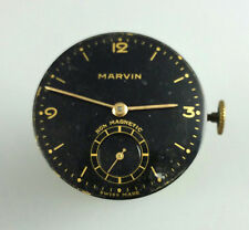 VINTAGE MARVIN CALIBER 540 MENS MANUAL WIND WRIST WATCH MOVEMENT - RUNS