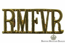 Royal Marines Force Volunteer Reserve RMFVR Shoulder Title Badge - Marine Corps