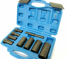 9pc Locking Wheel Nut Removal / Hub Remover Impact socket set  By Bergen 1321