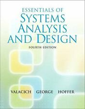 Essentials of System Analysis and Design (4th Edition)