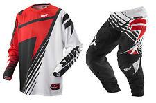 Shift Faction Satellite Motocross Kit Combo Red/Black - 28/S