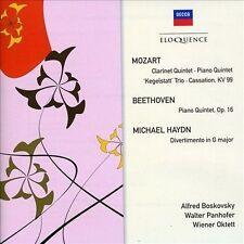 Mozart: Clarinet Quintet; Beethoven: Piano Quintet; Michael Haydn:...