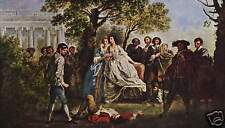 Francis Hayman As You Like It William Shakespeare 1750 9x6 Inch Print
