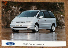 FORD GALAXY GHIA X Original UK Launch Press Photo from circa 1997-98