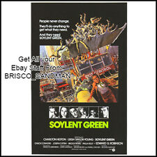 Fridge Fun Refrigerator Magnet SOYLENT GREEN MOVIE POSTER Classic 70s Retro