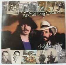 BELLAMY BROTHERS  (LP 33 Tours)  WHEN WERE WE BOYS
