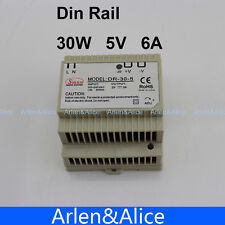 30W 5V 6A Din Rail Single Output Switching power supply AC TO DC
