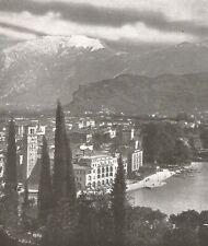 D0014 Riva sul Garda - Veduta - Stampa Antica del 1932 - Old print