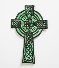 Set of 12 Religious Celtic Cross Patches, Good for Gifts, Sunday School