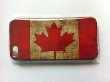 Retro Canada  Flag Case Cover For Apple iPhone 5 5G 5th iPhone 5 SE