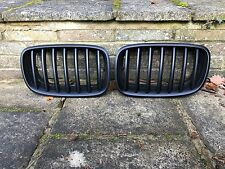 BMW E70 X5 E71 X6 FRONT RADIATOR KIDNEY GRILLES GRILL BLACK