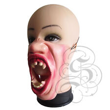Half Face Comedy Horror Halloween Vampire Attack People Latex Party Fancy Mask