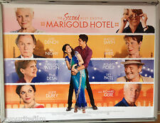 Cinema Poster: SECOND BEST EXOTIC MARIGOLD HOTEL 2015 (Quad) Maggie Smith