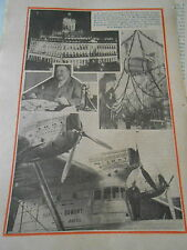 Une Rue de Mâcon pour la fête du vin Le Santos-Dumont hydravion géant Print 1933