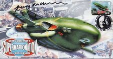 GERRY ANDERSON Signed FDC Ltd Ed. THUNDERBIRDS & STINGRAY COA