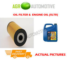 DIESEL OIL FILTER + FS PD 5W40 ENGINE OIL FOR FORD GALAXY 1.9 116 BHP 2000-06
