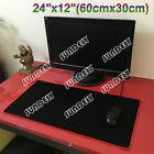 Black & Red Large Gaming Mouse pad Keyboard Mat Laptop Computer PC Mice Mat