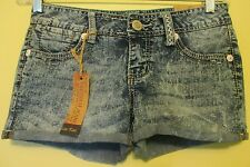 AMETHYST JEANS Women's Premium Denim Low-Rise Cotton Blend Short Shorts Size 5