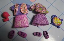Kelly Shelly CLub Friends DOLL Clothes/Shoe-Fashion Favorites 2 Complete Outfits