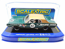 "Scalextric ""Allan Moffat"" Mercury Cougar XR7 1/32 Scale Slot Car C3614"