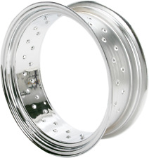 Drag Specialties Custom Spun Steel Chrome Rim, 16 x 6.00  0210-0021