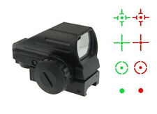 Vector Optics alcance táctico 1x22x33 Multi Retícula Compacto Rojo Verde Dot Sight