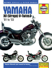 HAYNES Repair Manual - Yamaha Virago XV535 XV700 XV750 XV920 (1981-2000)