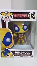 Deadpool - Yellow Deadpool Pop! Vinyl Figure Funko Amazon Exclusive (No Sticker)