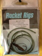 ROCKET HELICOPTER RIG Size 6 Barbless Hair Rig Tied To 15lb